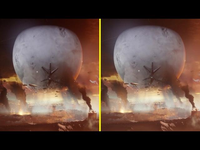 Destiny 2 PS4 Pro vs Xbox One S Graphics Comparison