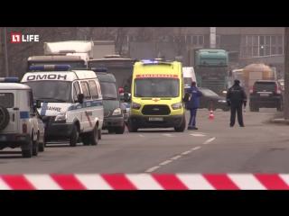 Поступило сообщение об угрозе взрыва в Санкт-Петербурге на Полюстровском проспекте