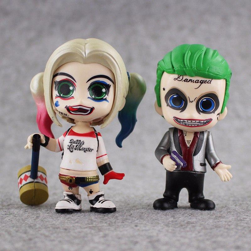 Фигурки Harley Quinn + Joker