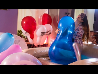 ThirtyThreeRooms.com - Room 8 Session 7 'To Shreds' (trailer) balloon inflatable fetish looner girl
