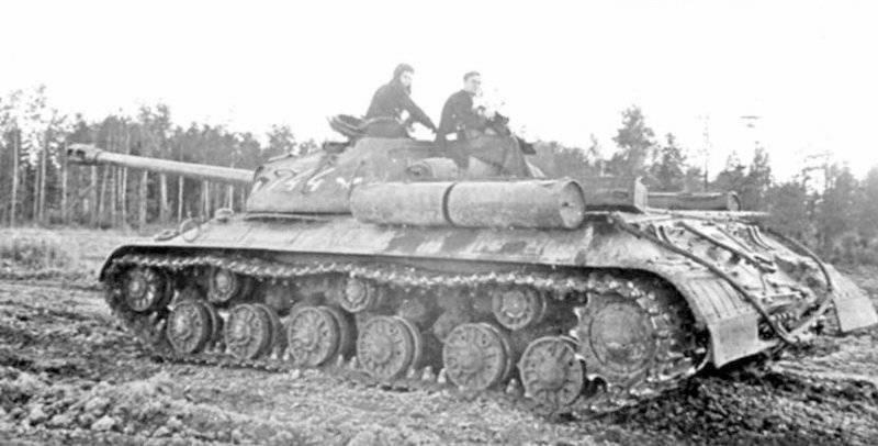 Как танк выглядит в игре