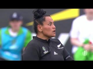 Предматчевый танец хака от женской сборной Новой Зеландии