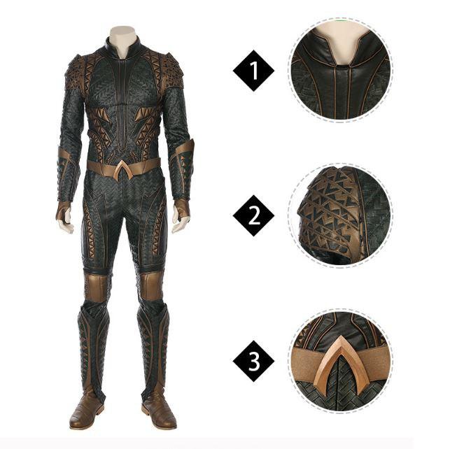 Рубрика Ночной косплей костюм - костюм Aquaman