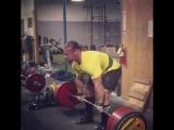 Дэн Грин - тяга 345 кг