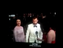 Jamie Dornan during an interview at the Oscars Opening Ceremony
