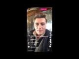 Алексей Воробьев Прямой эфир Instagram со съемочной площадки #UnRealTV Ванкувер Канада 01.03.2017