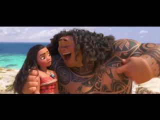 Расширенный отрывок из мультфильма «Моана — Moana» с песней You're Welcome.