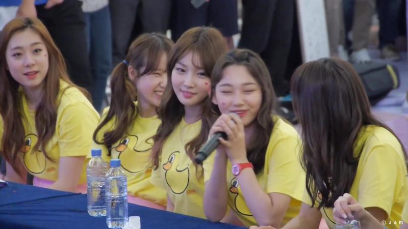 160513 I.O.I 아이오아이 팬사인회 - 멤버별 끝인사 (영등포타임스퀘어) 직캠 fancam by zam