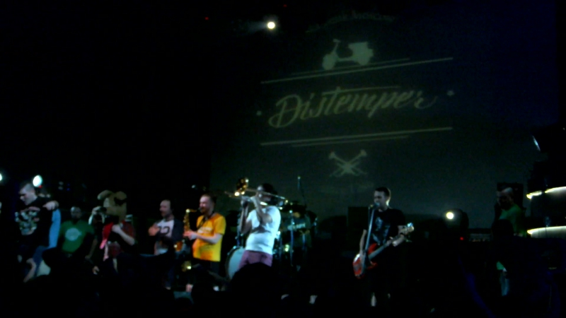 Концерт Distemper - ''Ураган''. Минск 18.02.2017