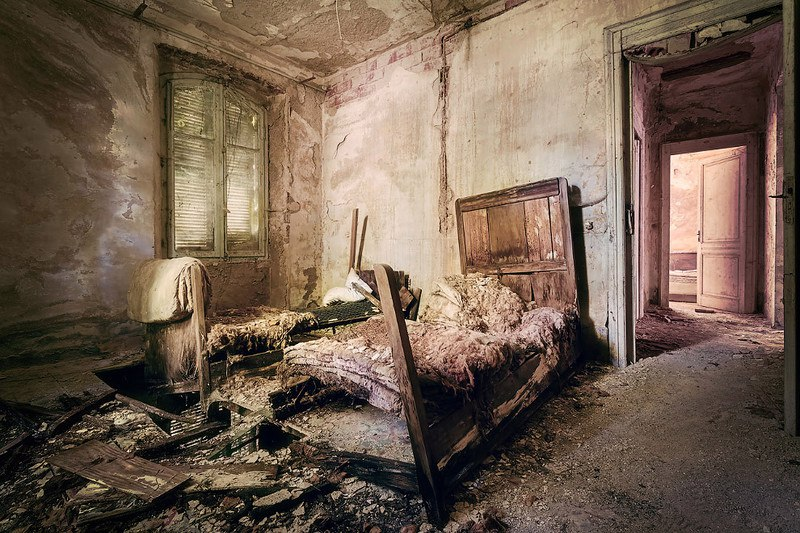 Незнакомая Италия - фотографии заброшенных мест