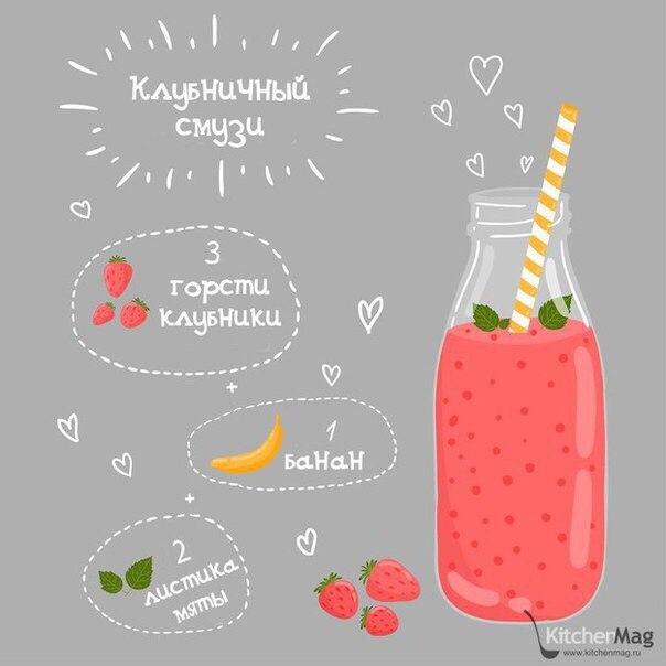 Смузи: 7 лучших рецептов