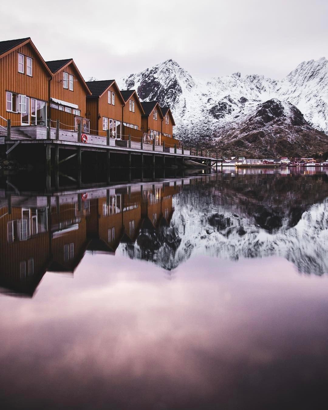 sw1A qTOENY - Норвегия - страна холодной красоты
