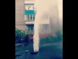 Авария на улице 79-й Гвардейской Дивизии в Томске