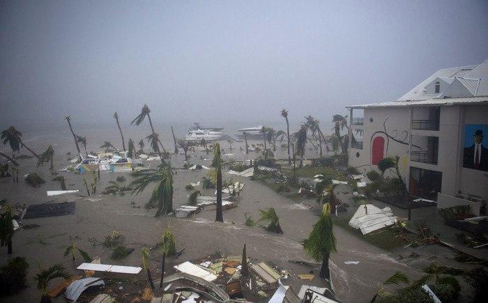 Последствия урагана Ирма