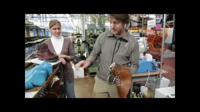 How Zamberlan Tofane GTX boots are made
