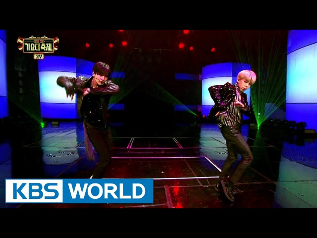 TAEMIN (SHINee) Jimin (BTS) - SHOWDOWN [2016 KBS Song Festival / 2017.01.01]