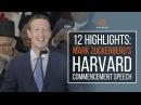 12 highlights: Mark Zuckerberg's Harvard commencement speech