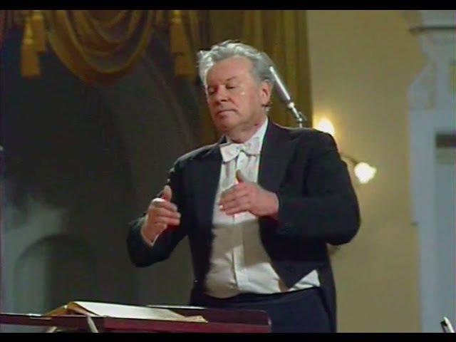 Evgeny Svetlanov conducts Scriabin Symphony no. 2 - video 1988