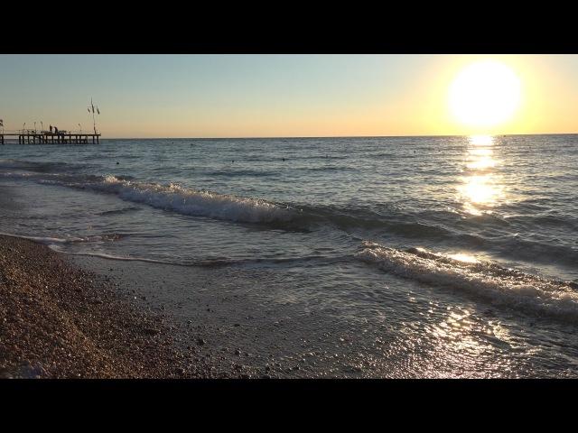 Турция 2016 09 Turkey 2016 09 Рассвет на средиземном море Sunrise on the mediterranean sea