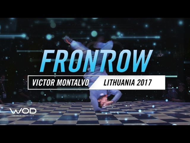 Victor Montalvo FrontRow World of Dance Lithuania Qualifier 2017 WODLTU17