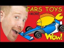 Cars Toys MORE English Collection of Stories for Kids from Steve and Maggie Wow English TV