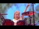 10 летняя барабанщица выиграла шоу талантов в Дании 2017/Классно бацает/