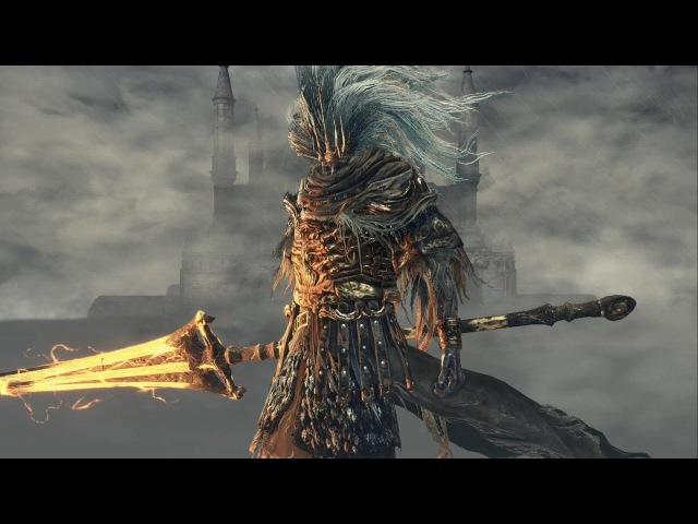 Dark Souls 3: Nameless King Boss Fight with Anri's Straight Sword (NG)