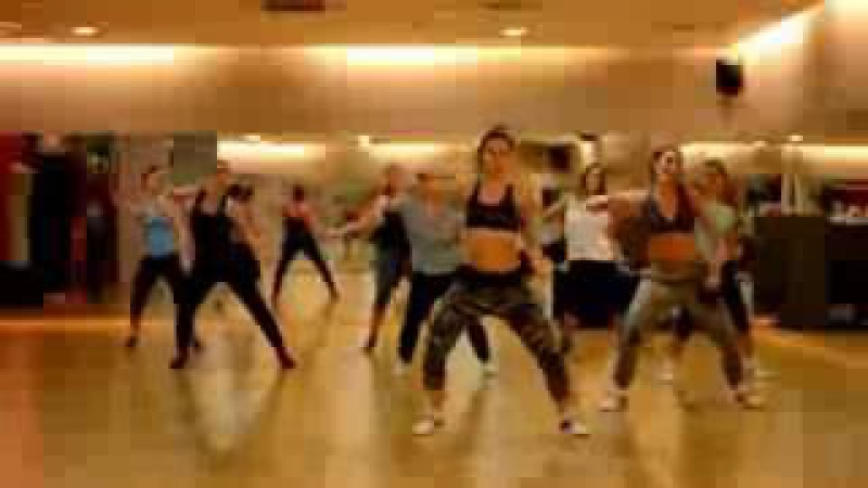 Zumba Dance Workout - 10 Minutes Super Easy Belly Dance Abs For Flat Tummy