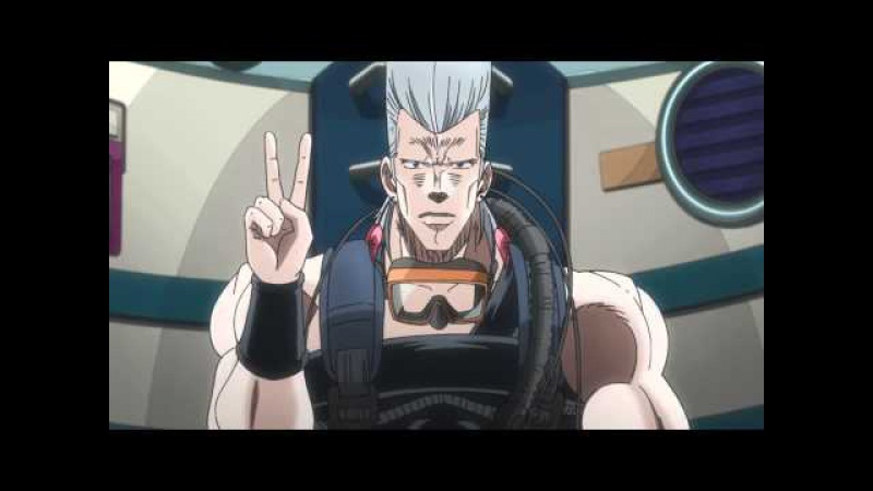 Polnareff and Kakyoin's Awesome Handshake