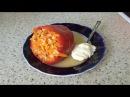 Фаршированный перец с овощами и рисом без мяса Вкусный рецепт