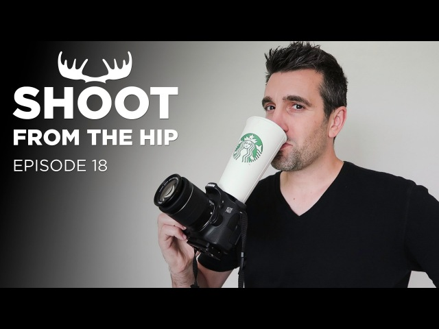 How to Take Better Pictures Indoors with a DIY Pop-up Flash Diffuser - Shoot from the Hip (Ep 18)