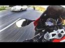 Гонки на мотоциклах Безбашенная езда по городу