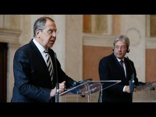 Пресс-конференция С.В.Лаврова и П.Джентилони, Рим, 2 декабря 2016 г.