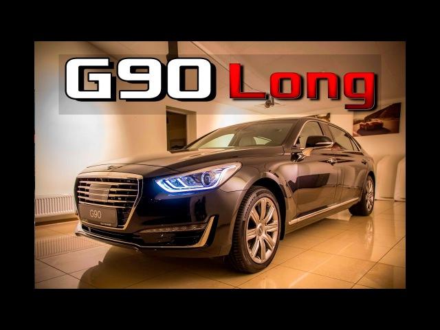 Обзор Genesis G90L 2017 V8 5.0 GDI 4WD / Тест-Драйв новый Дженезис G90 скоро...
