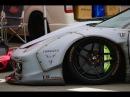 Liberty Walk LB☆PERFORMANCE LB☆works Ferrari 458 Italia Fi EXHAUST Sound