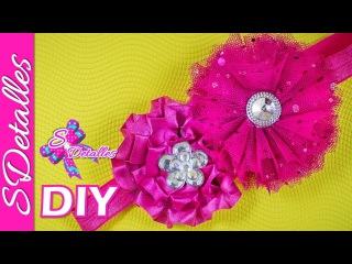 Cintillo o Diadema para Bebé #7 / HeadBand for Babies #7   Video# 43   SDetalles   DIY