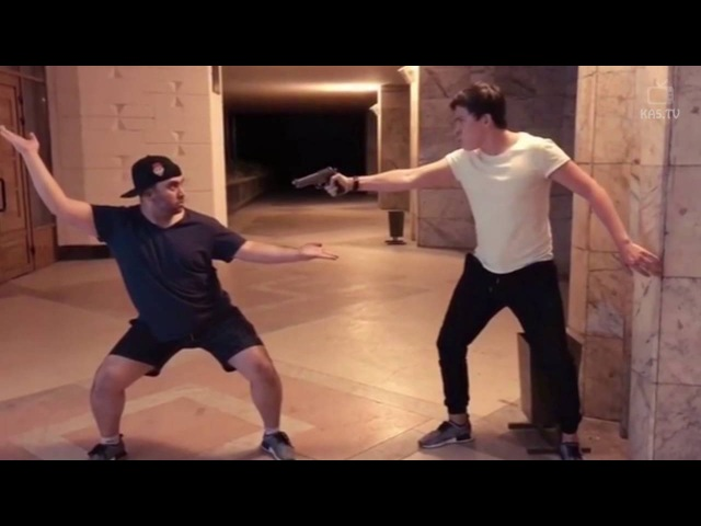 Мастер Кунг-Фу против пистолета