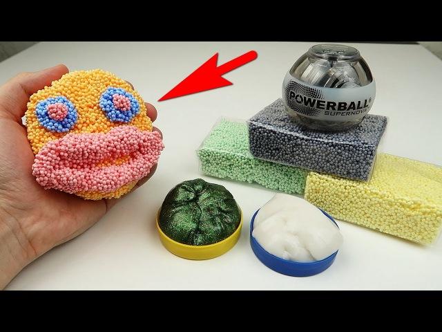 Шариковый пластилин, Новые хэндгамы и PowerBall