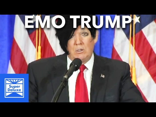 Donald Trumps Speeches As An Early 2000s Emo Song