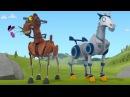 Мультфильм для детей про роботов- Храброе сердце – Тарахтелка влюбился – О рыца...