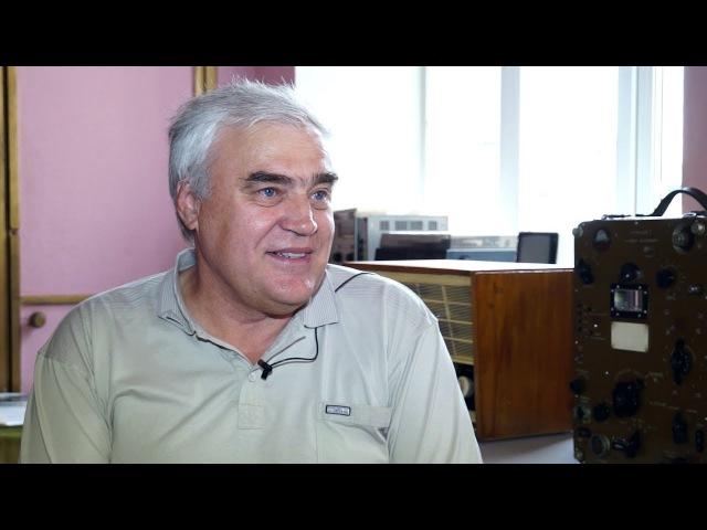 Радиолюбитель, ветеран АО «Саянскхимпласт» Владимир Лукьянов