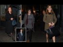 Sarah Ferguson Enjoys Dinner with Prince Andrew, Princess Beatrice, And Princess Eugenie in Mayfair