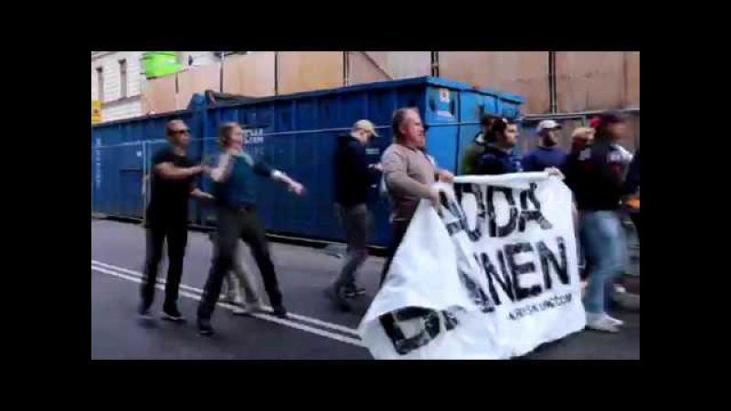 Nordisk Ungdom - Stoppar Prideparaden 2017