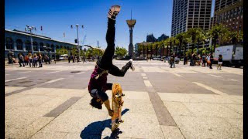 Skateboard Parkour in 8k - Streets of San Francisco!