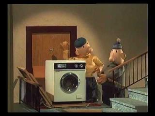 Пат и Мат. Стиральная машина.