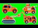 Пожарная машина мультик все серии 1 ЧАС. Мультик про пожарную машину все серии подряд без остановки