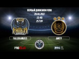 RLPC  14th Season  1st Division  24th Match Day  Fallen Angels - Amity