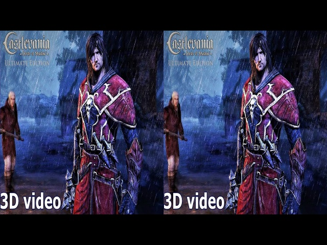 3D Castlevania Lords of Shadow TV VR video Side by Side SBS