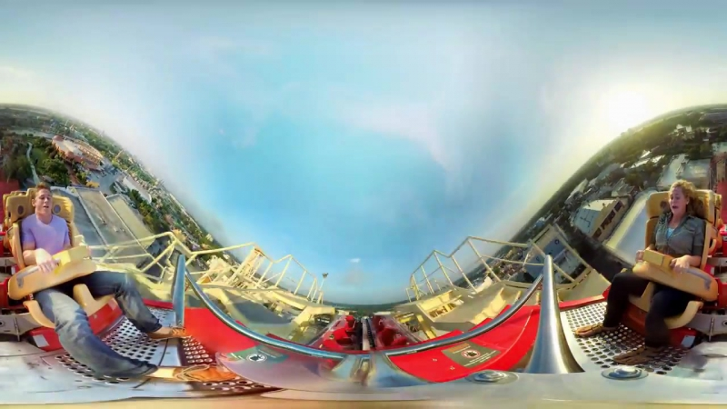 Голивуд Rip Ride Rockit 360 видео. Hollywood Rip Ride Rockit _ Universal 360° Attractions