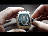 Часы Richard Mille RM 052 Tourbillon Skull Gold